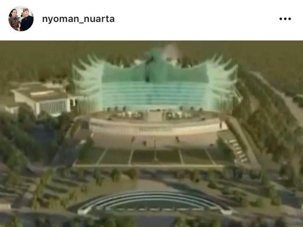Kena Nyinyir Netizen, Desainer Ungkap Alasan Garuda Jadi Desain Istana Negara