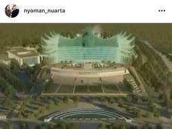 Desain Garuda Istana Negara di Ibu Kota Baru Dinilai Tak Ramah Lingkungan
