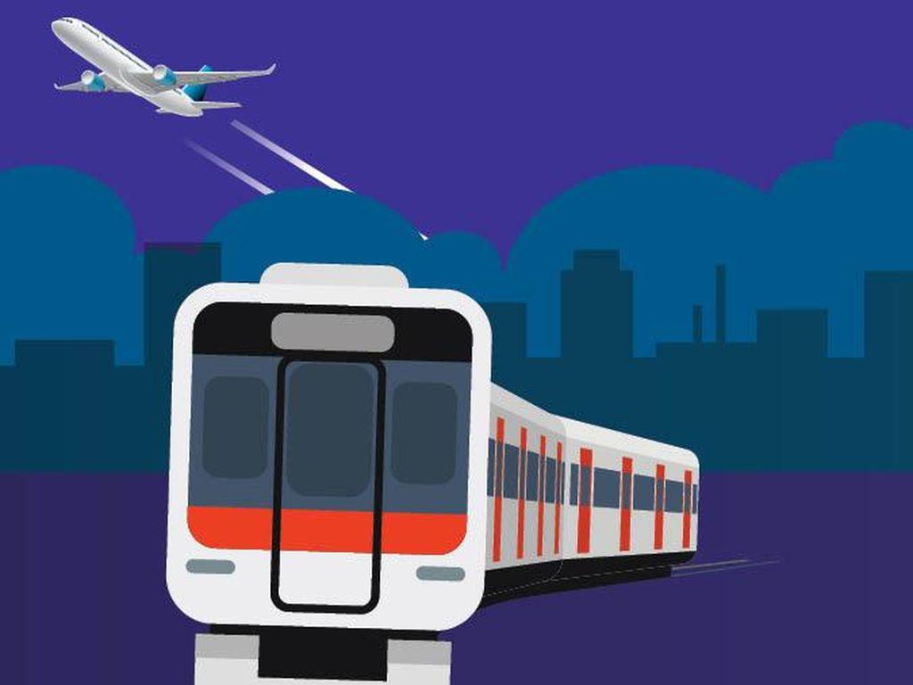 Jangan Salah Naik, Ini Beda Kereta Bandara Premium dan Eksekutif