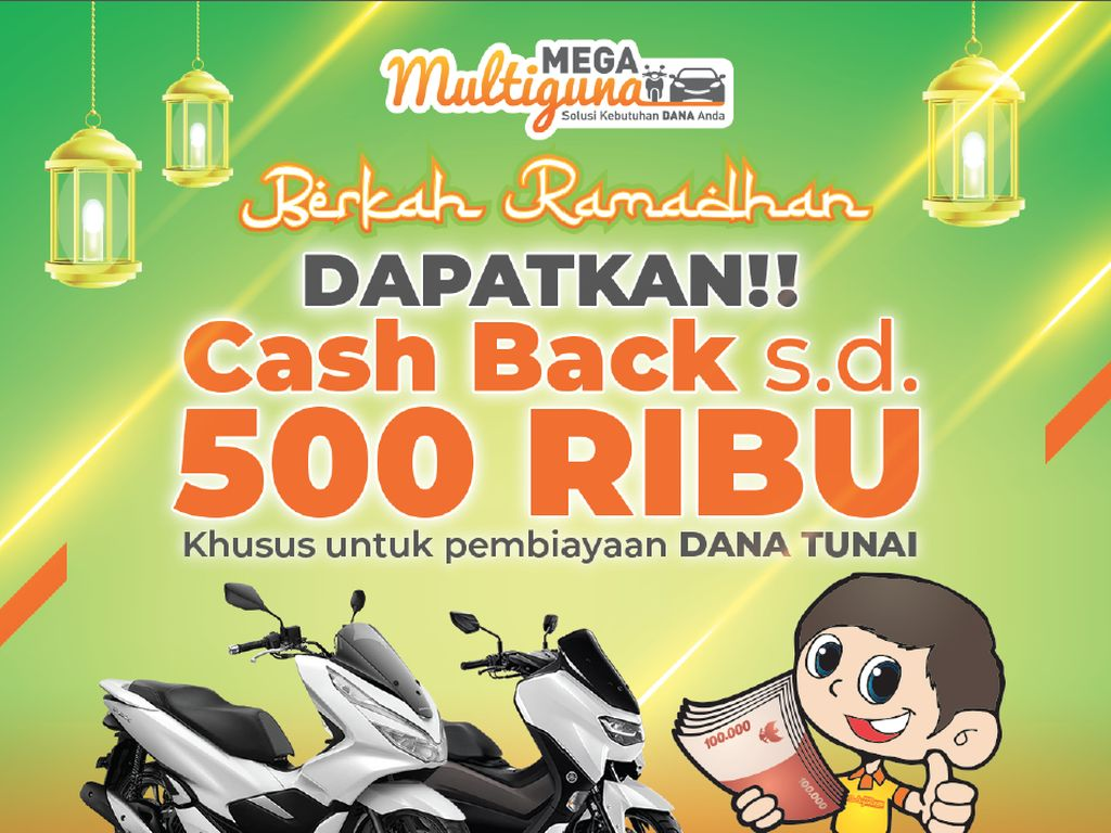 Sambut Ramadhan, Ada Promo Kolaborasi Mega Finance & Mega Insurance
