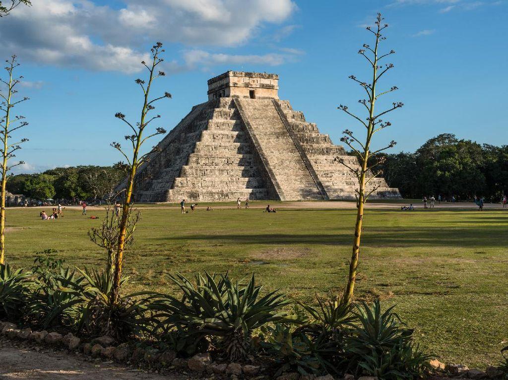 Meksiko Tutup Situs Arkeologi Gegara.. Turis Tak Pakai Masker