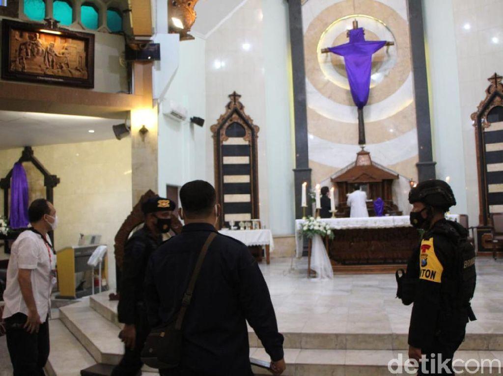 725 Personel Gabungan Siaga Jaga Kota Kediri Selama Paskah