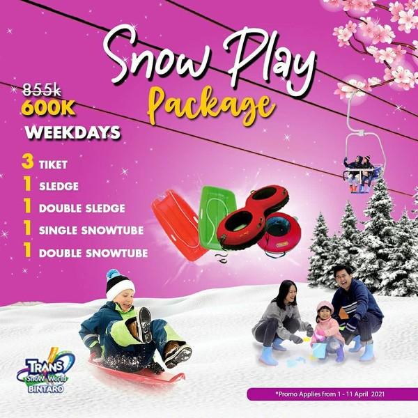 Promo Trans Snow World Bintaro Weekdays