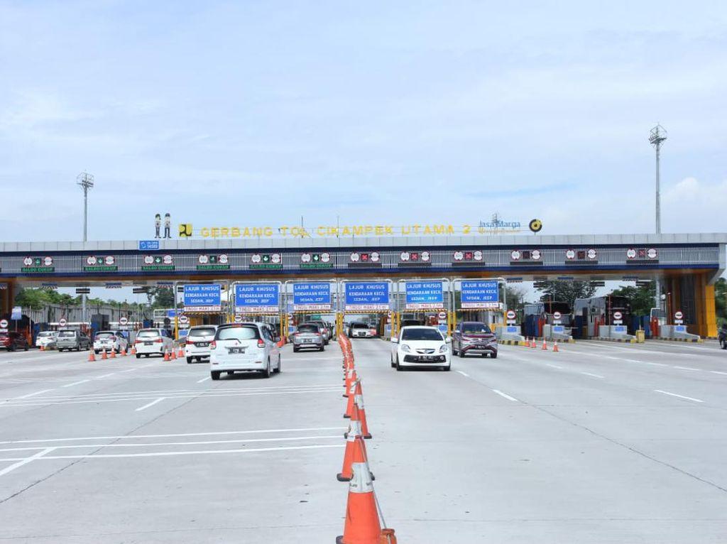 Libur Paskah, Jumlah Kendaraan di Tol Cikampek Naik 50,79%