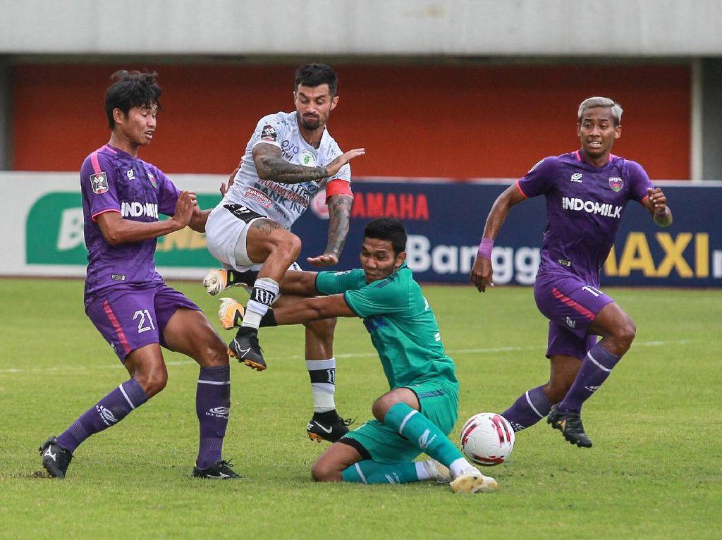 Hasil Piala Menpora 2021: Imbangi Persita, Bali United Lolos ke 8 Besar