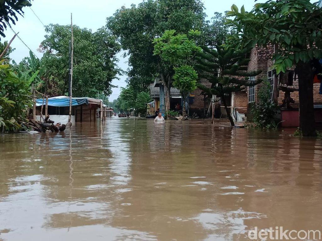 Dua Sungai Meluap, 8 Desa di Jombang Dilanda Banjir
