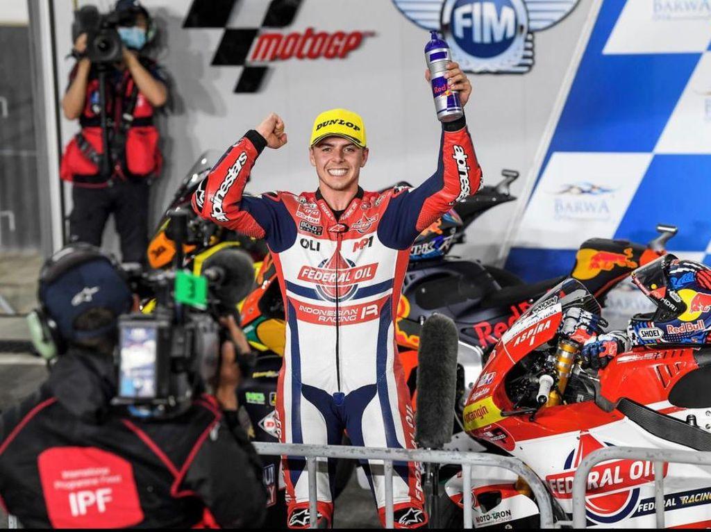 Bagaimana Kiprah Tim Indonesia di Moto2 Doha?
