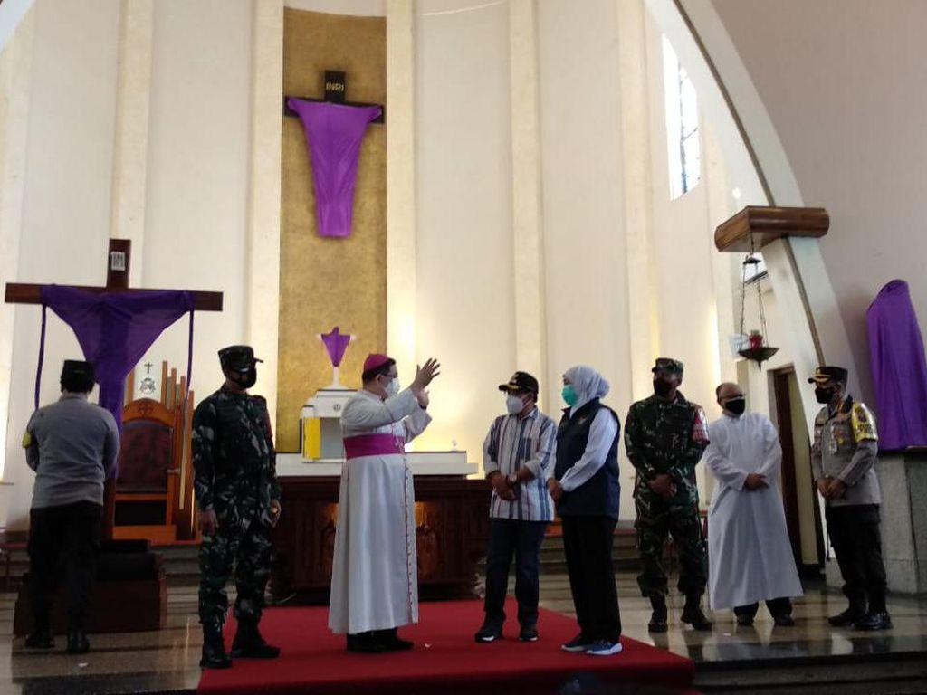 Forkopimda Jatim Cek Keamanan Jumat Agung di Gereja Katedral Ijen Malang