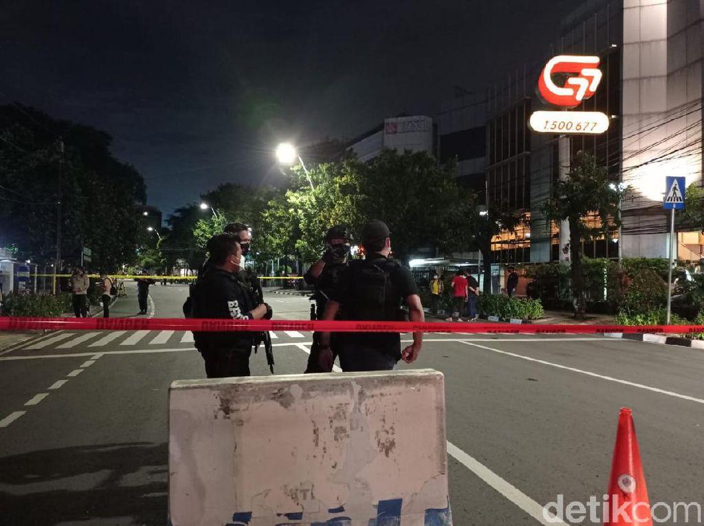 Polisi Tak Temukan Rangkaian Bom di Benda Misterius Depan GPIB Effatha Jaksel