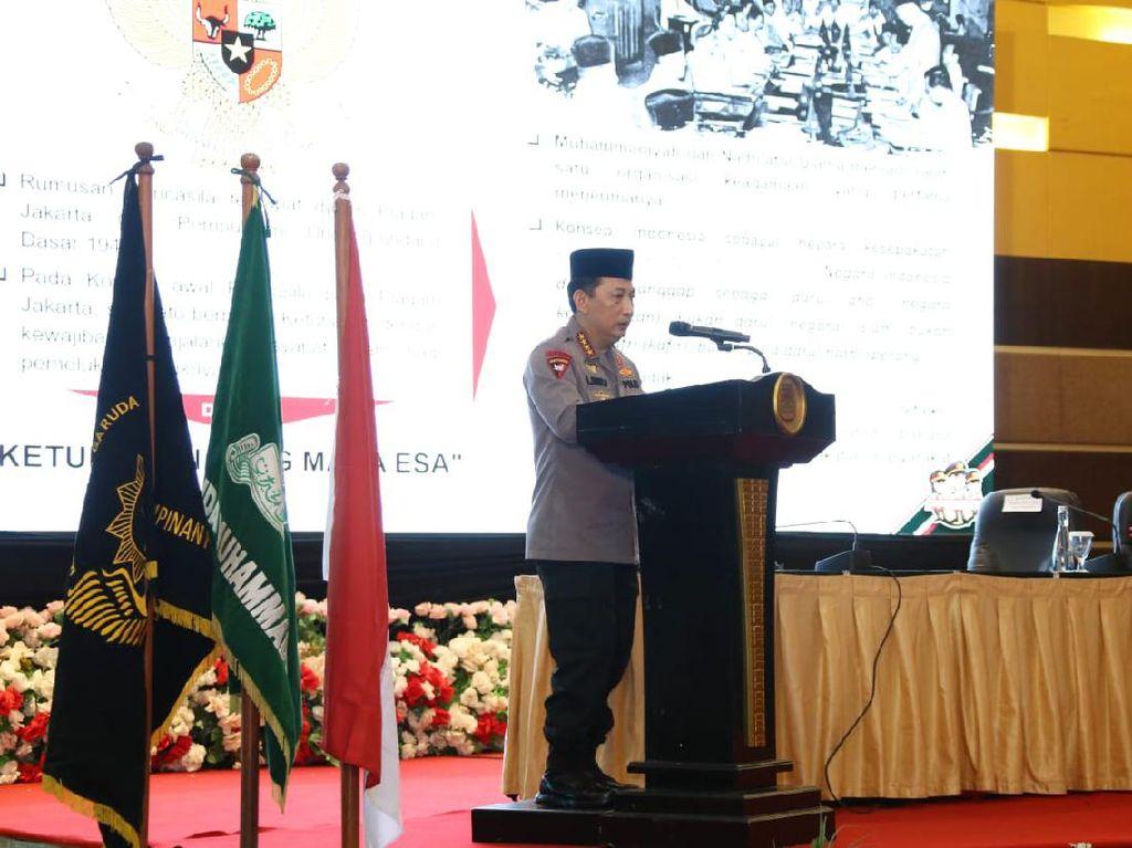 Kapolri Bicara Ketahanan Nasional di Acara Pemuda Muhammadiyah di Manado
