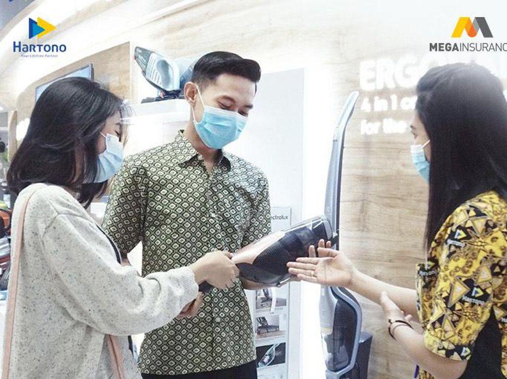Belanja Aman & Nyaman di Hartono Elektronik dengan Mega Insurance