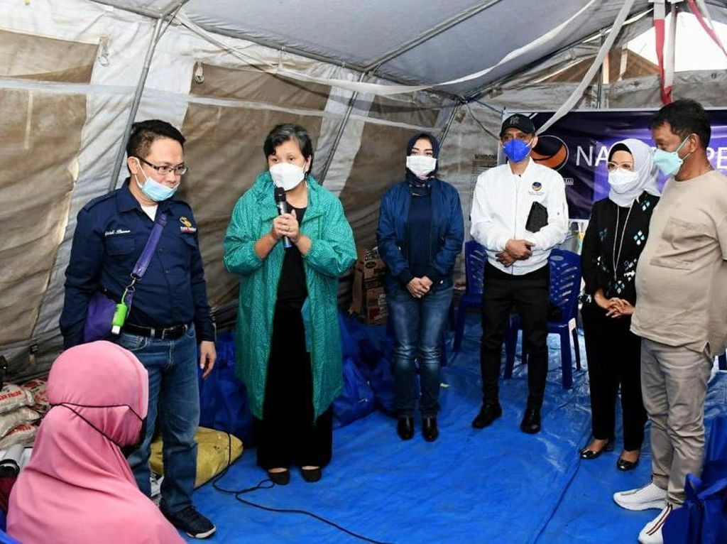 Kunjungi Penyintas Gempa Sulteng, Lestari Moerdijat Bahas Hunian Layak