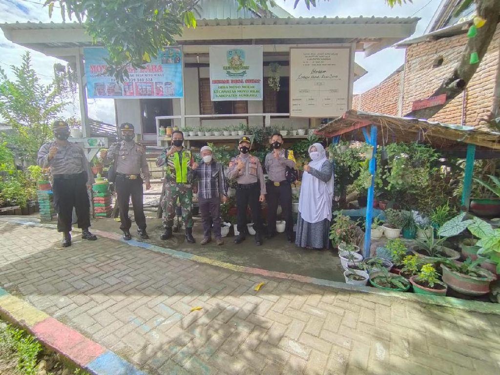 Polres Sumbawa Apresiasi Persiapan Inovasi Kampung Sehat Desa Moyo