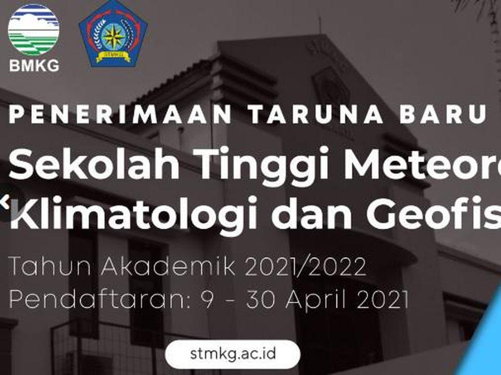 Sekolah Kedinasan BMKG Buka Pendaftaran 9 April 2021, Cek Syaratnya