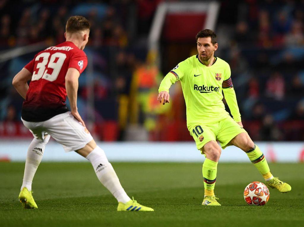 Cerita McTominay Ingin Jersey Messi, Malah Dituduh Macam-macam