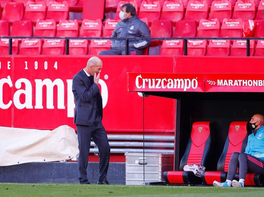 Zidane Capek Tanggapi Rumor Haaland Terus