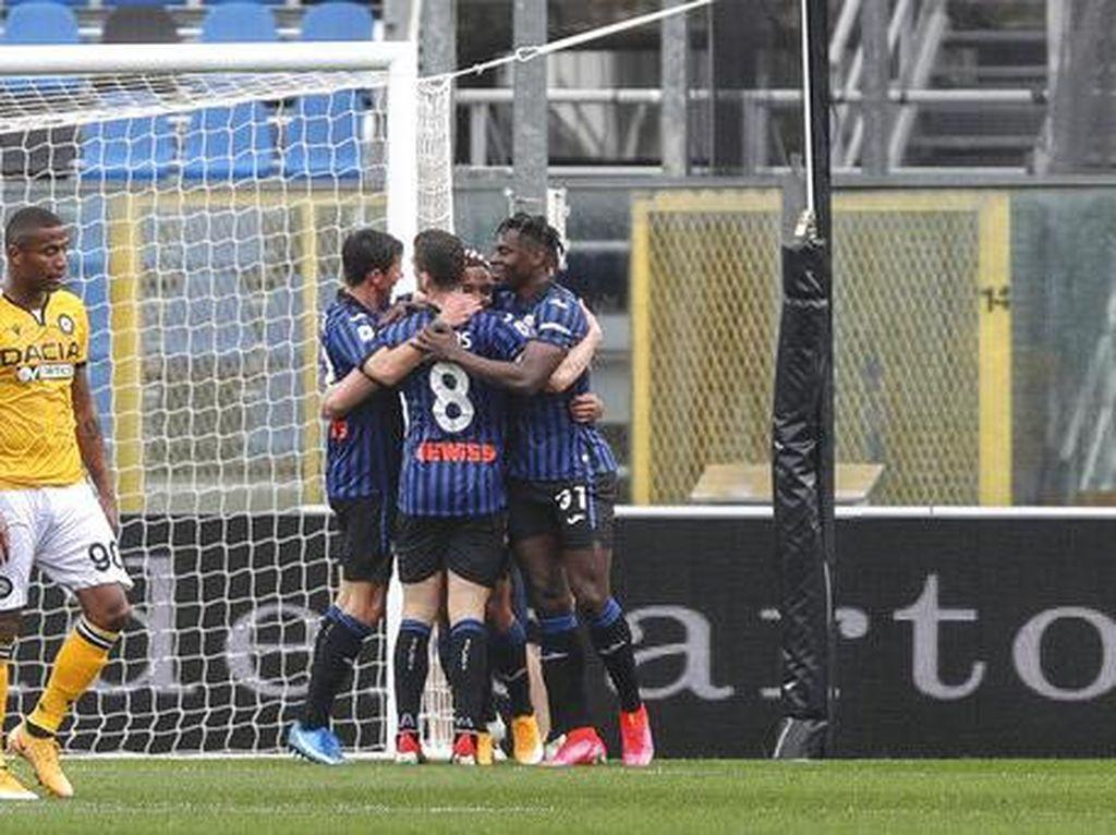Hasil Liga Italia: Atalanta Menang, Empat Besar Kian Ramai
