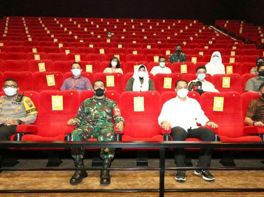 Wali Kota Eri Cahyadi: Bioskop akan Ditutup Bila Penonton Melanggar Prokes