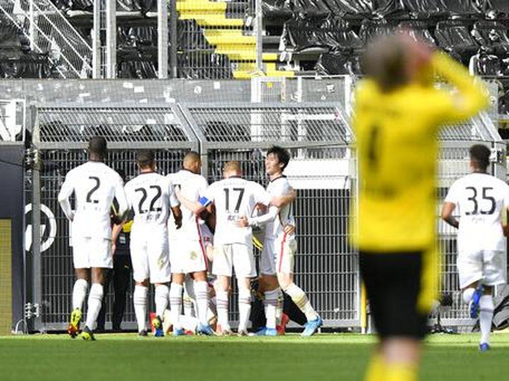 Hasil Liga Jerman: Dortmund Ditumbangkan Frankfurt di Kandang
