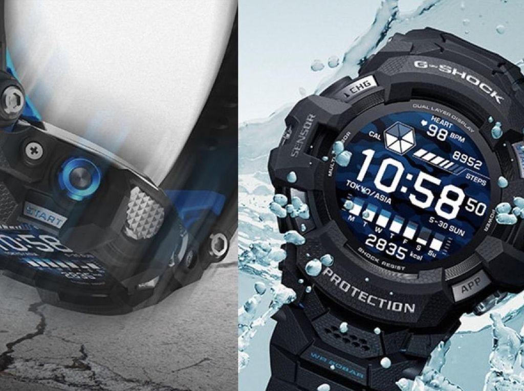 Casio G-Shock Terbaru Pakai Wear OS dan Tahan Air 200 Meter, Harganya?