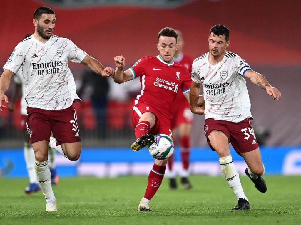 Arsenal Vs Liverpool: Jota Mengancam The Gunners