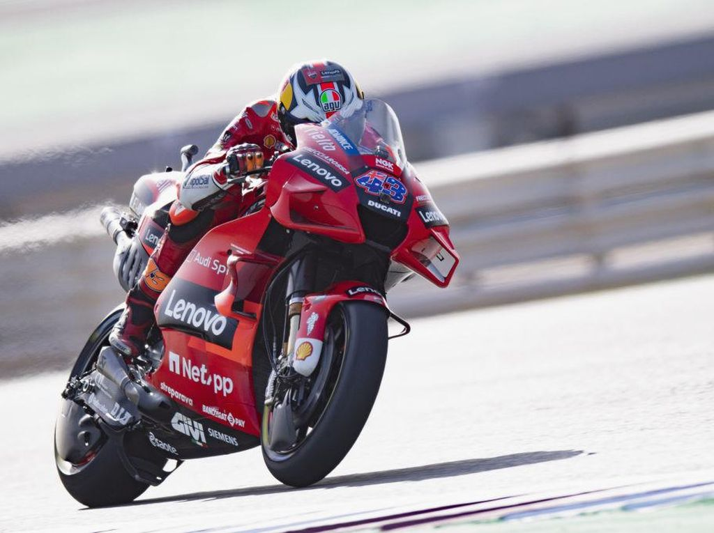 Free Practice II MotoGP Doha 2021: Miller Nomor Satu, Ducati Berkuasa