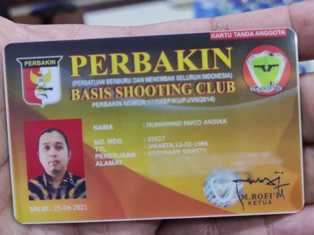 Perbakin Dimintai Keterangan soal KTA Basis Shooting Club Pengemudi Koboi