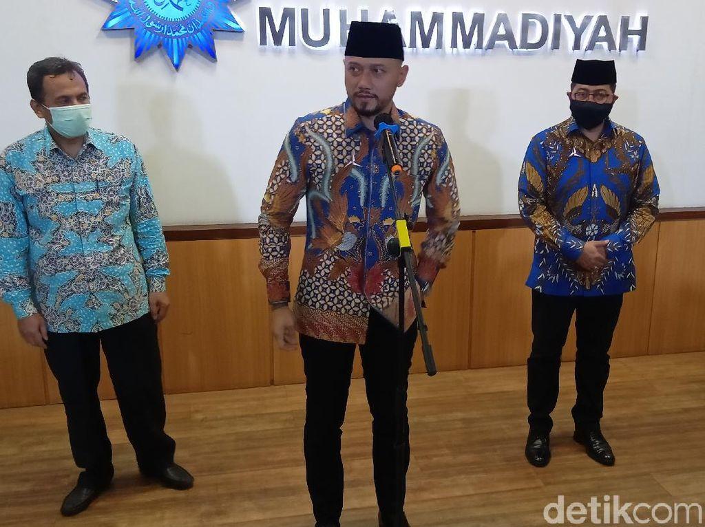 AHY Temui Ketum PP Muhammadiyah di Yogya, Bahas Apa?