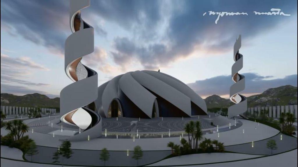 Desain Masjid Agung Ibu Kota Baru, Bagaimana Menurut Anda?
