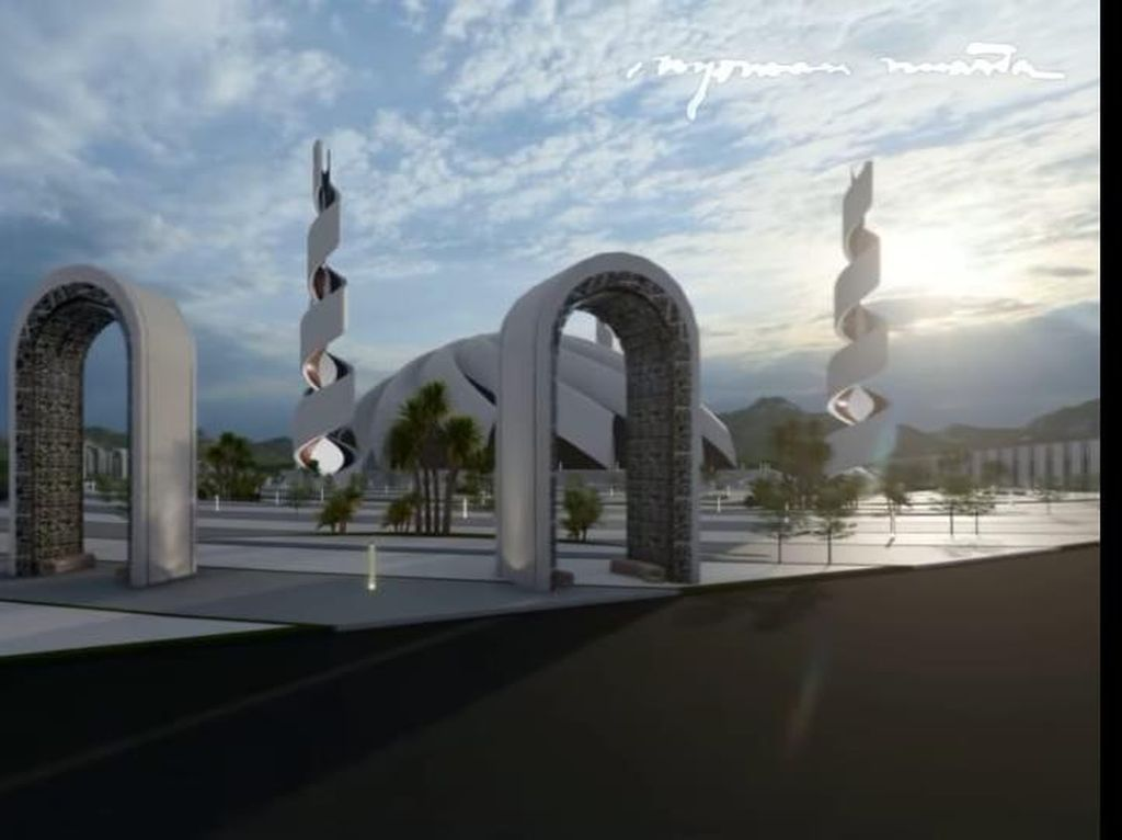 Desain Istana di Ibu Kota Baru Lagi Finishing, Kapan Dibangun?