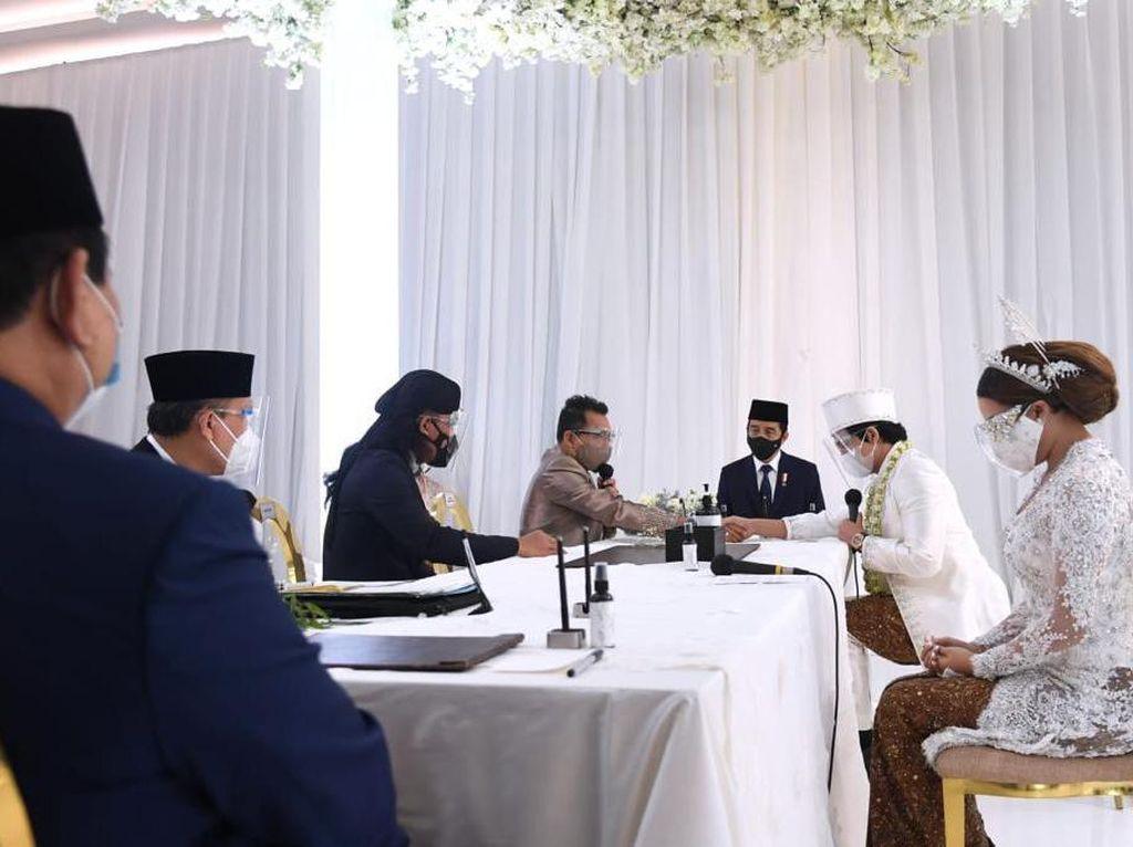 Video Jokowi-Prabowo Jadi Saksi di pernikahan Atta dan Aurel