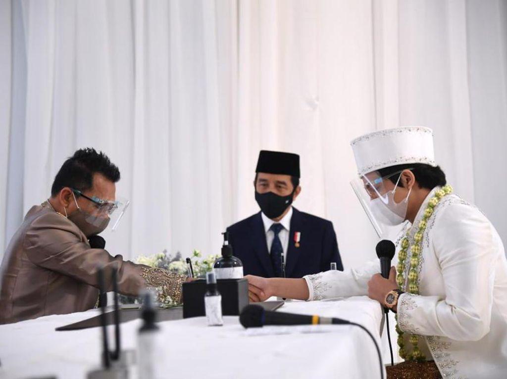 Pro-kontra Mengemuka Usai Jokowi Jadi Saksi Nikahan Aurel-Atta