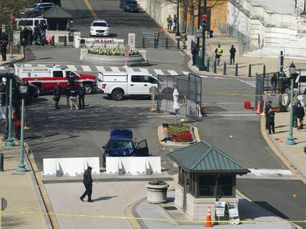 Pelaku Serangan Gedung Capitol AS Berumur 25 Tahun, Biden Berduka