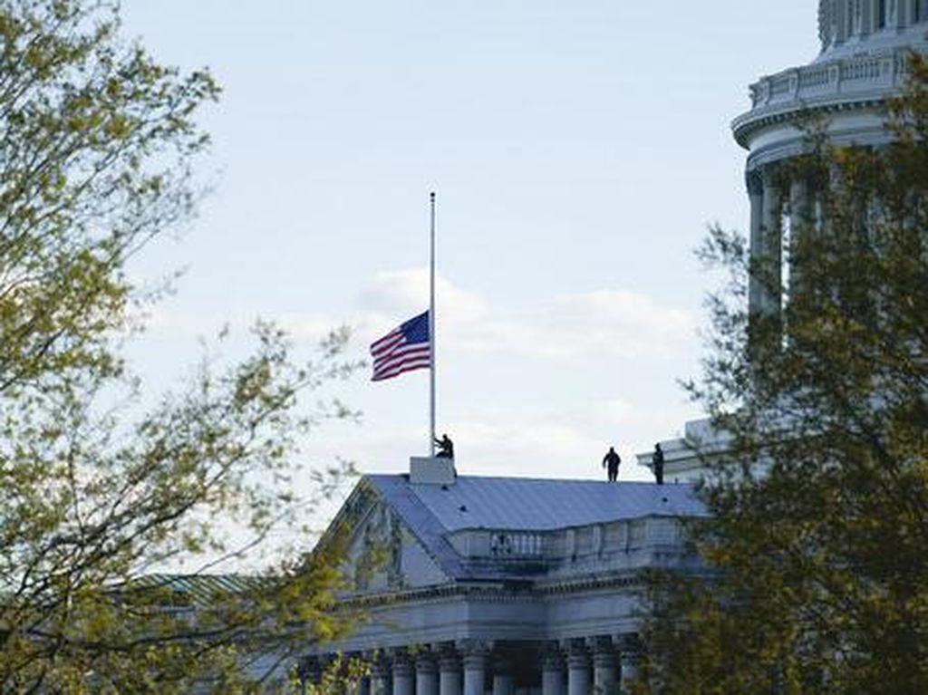 2 Kali Serangan ke Gedung Capitol AS dalam 3 Bulan