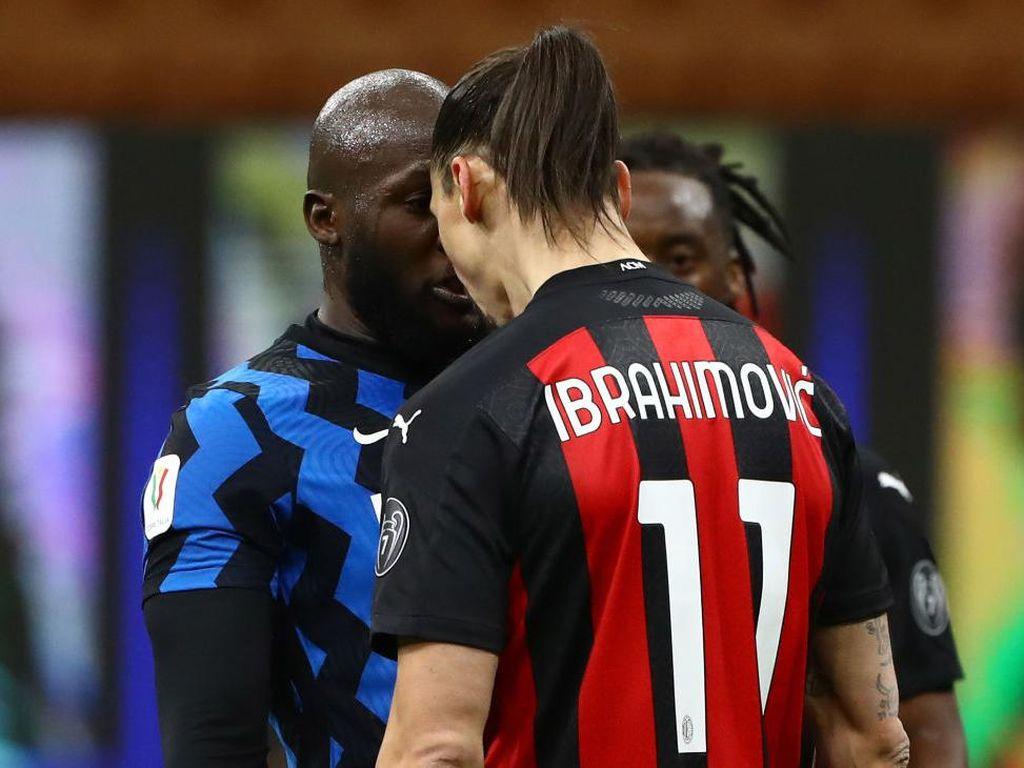 Ibrahimovic dan Lukaku yang Ribut, Dendanya untuk Amal
