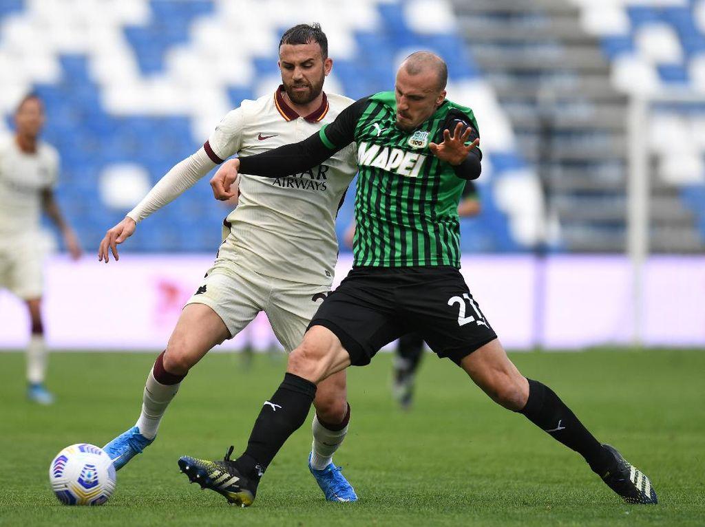 Sassuolo Vs Roma Berakhir 2-2
