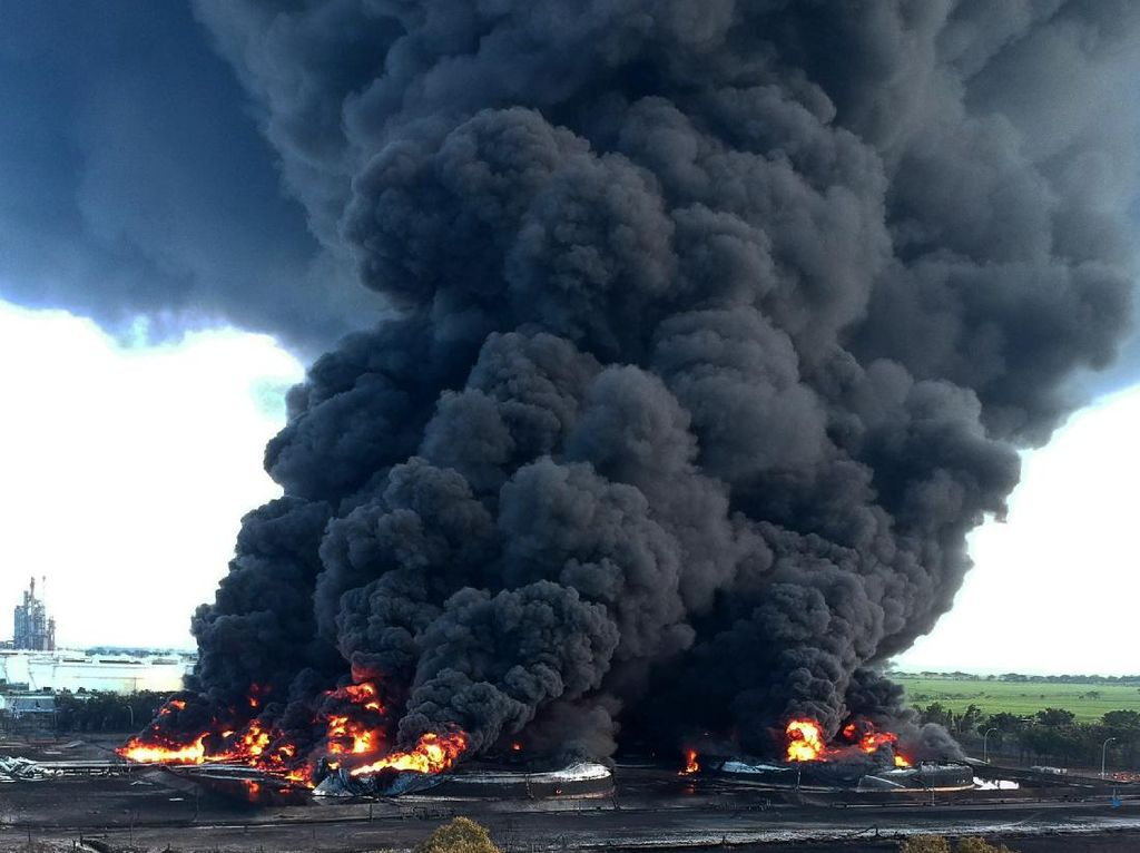 Kasus Kebakaran Kilang Pertamina Balongan Naik ke Penyidikan