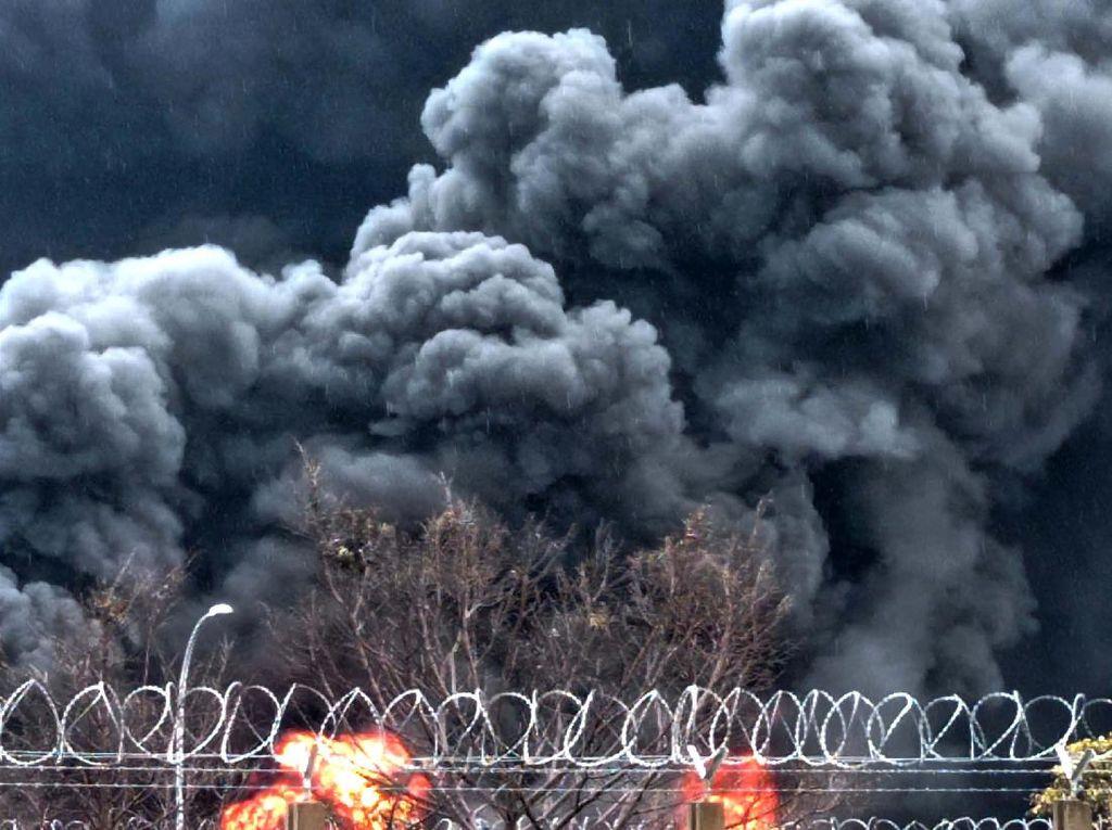 Pertamina Jawab Temuan Ombudsman Soal Sebab Kebakaran Kilang Balongan