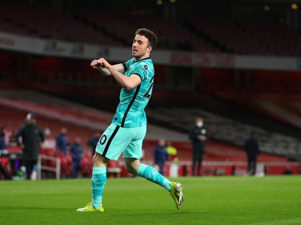 Usai Liverpool Hajar Arsenal, Diogo Jota Yakin Finis 4 Besar