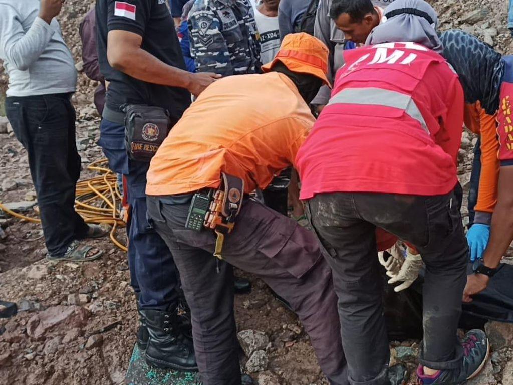 Pria Ditemukan Tewas Usai Nekat Berenang di Bekas Galian Batu Cilegon