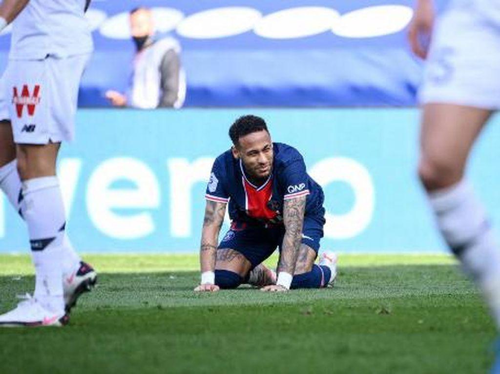 PSG Vs Lille: Neymar Kartu Merah, Les Parisiens Takluk 0-1