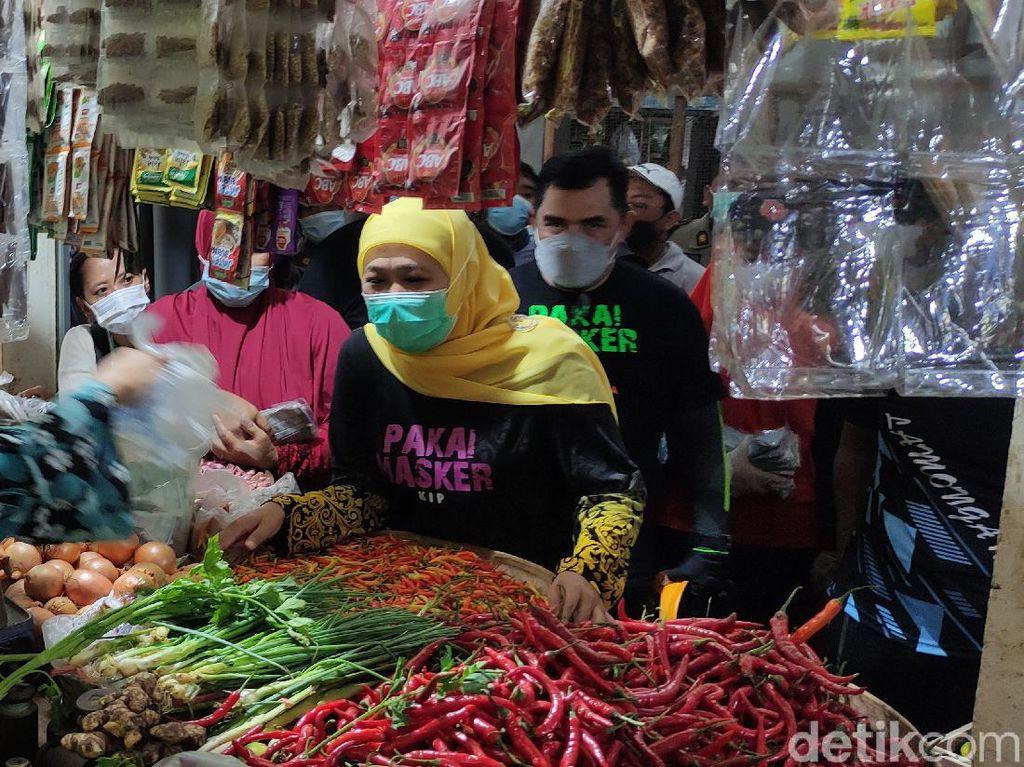 Jelang Ramadhan, Gubernur Jatim Pastikan Stok Sembako Aman