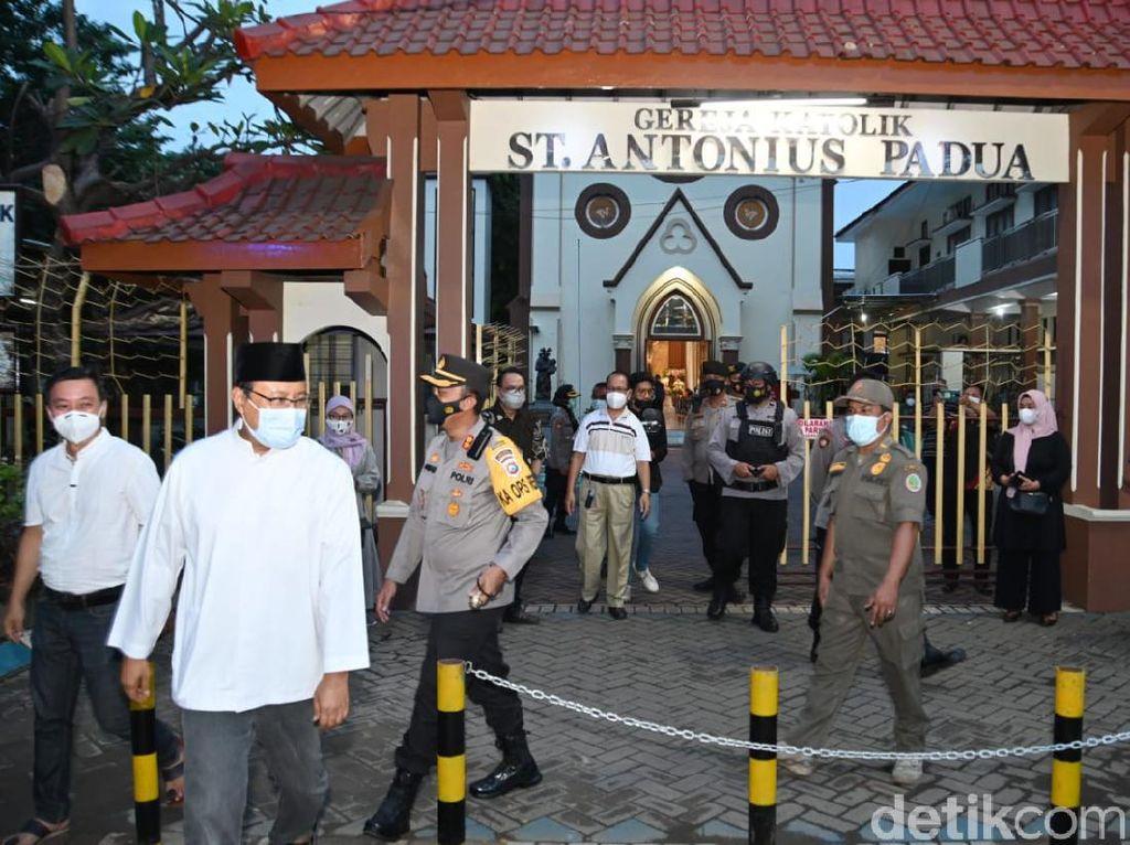 Gus Ipul Sebut Perayaan Paskah di Kota Pasuruan Kondusif