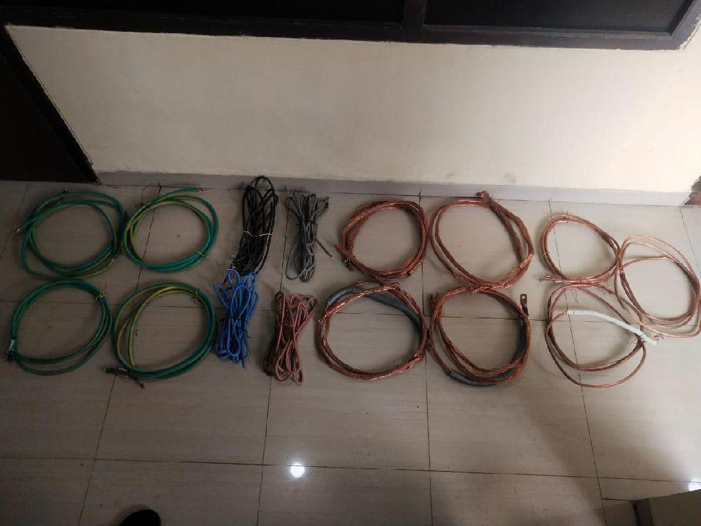 Kabel Proyek LRT di Setiabudi Dicuri, Pelaku Ternyata Karyawannya