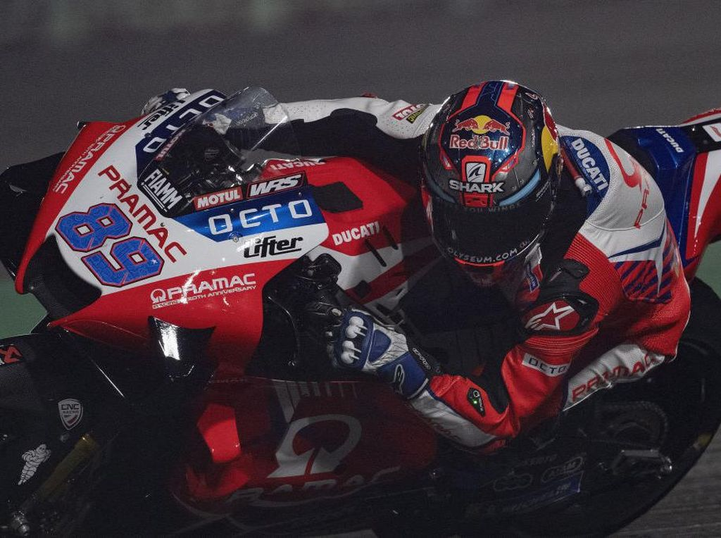 Jorge Martin Pole Position, Zarco Start Kedua di MotoGP Doha
