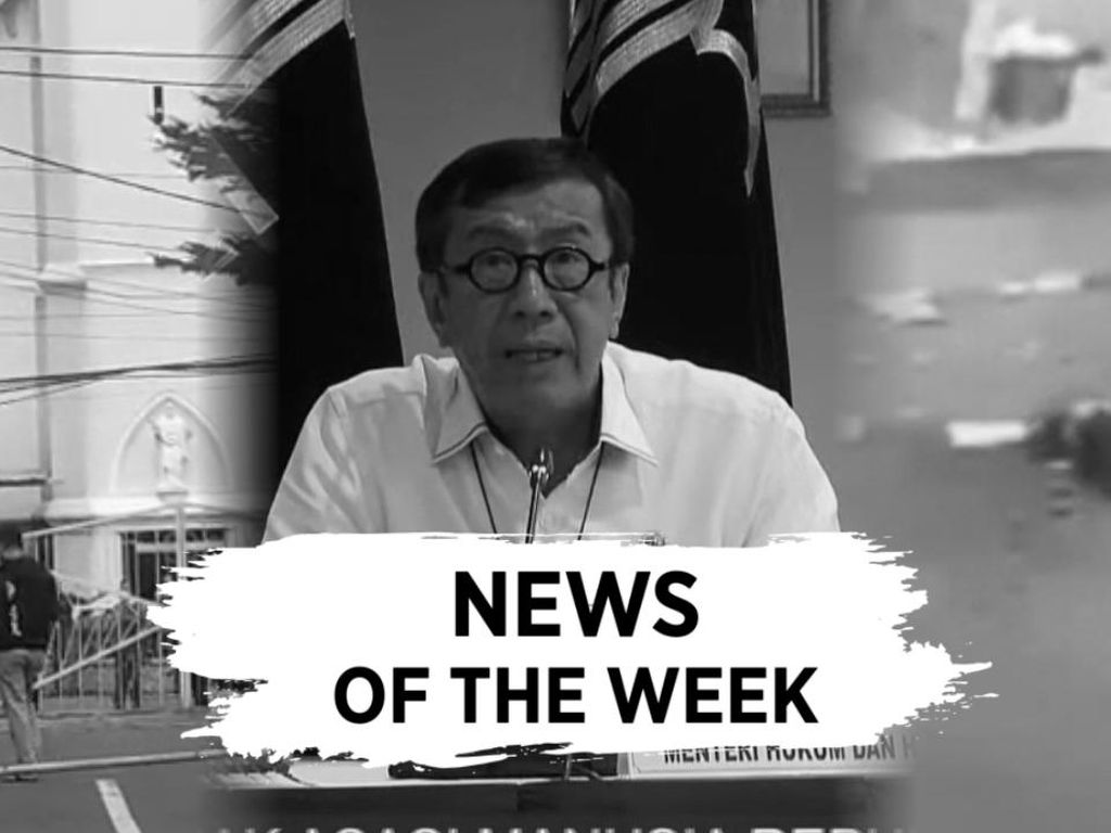 News Of The Week: Mabes Polri Diserang, Demokrat Kubu Moeldoko Kandas