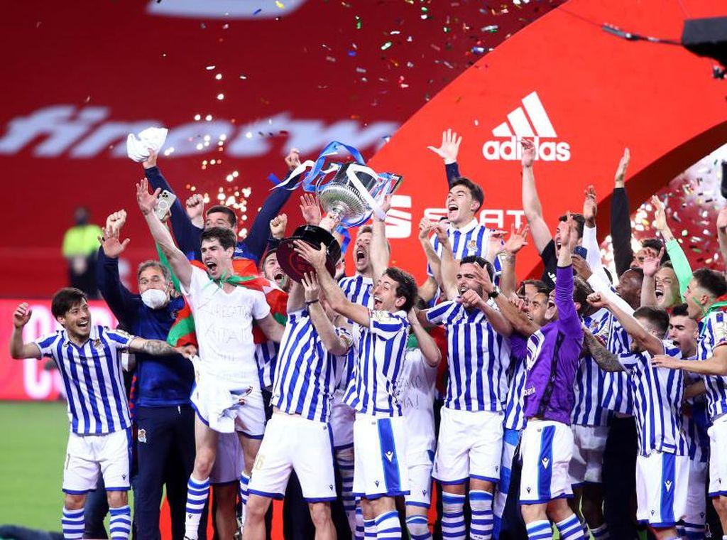 Kalahkan Athletic Bilbao, Real Sociedad Juara Copa Del Rey 2019/20