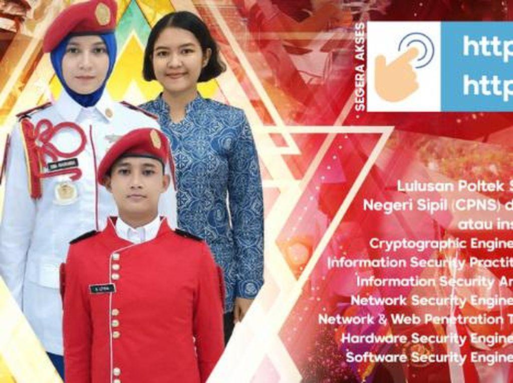Sekolah Kedinasan Sandi Negara Buka Pendaftaran, Gratis dan Langsung Kerja