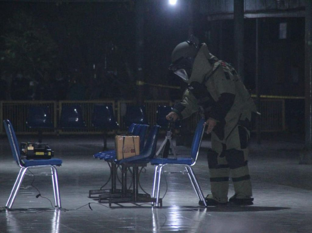 Polisi Pastikan Benda Mencurigakan di Terminal Madiun Bukan Rangkaian Bom