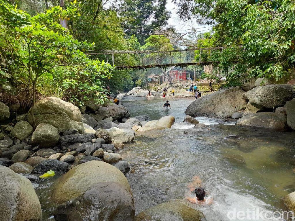 Melihat Keindahan Wisata Sungai Berbatu di Polewali Mandar